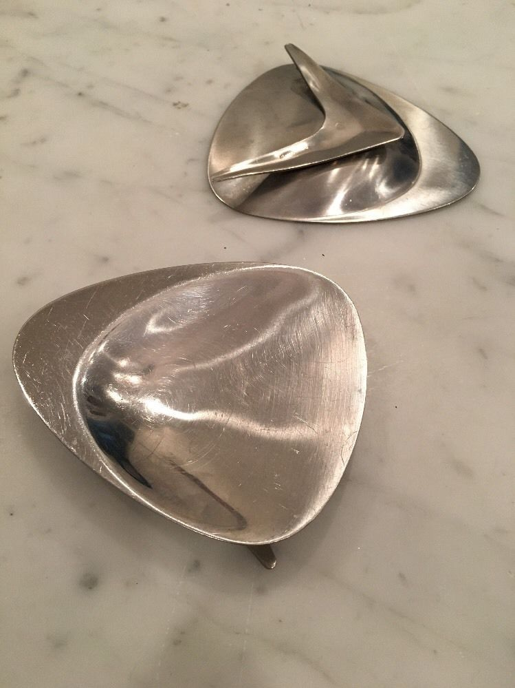 Vintage LUNDTOFTE Danish Modern Stainless  Dishes Boomerang MCM Eames Atomic | Antiques, Periods & Styles, Mid-Century Modernism | eBay!