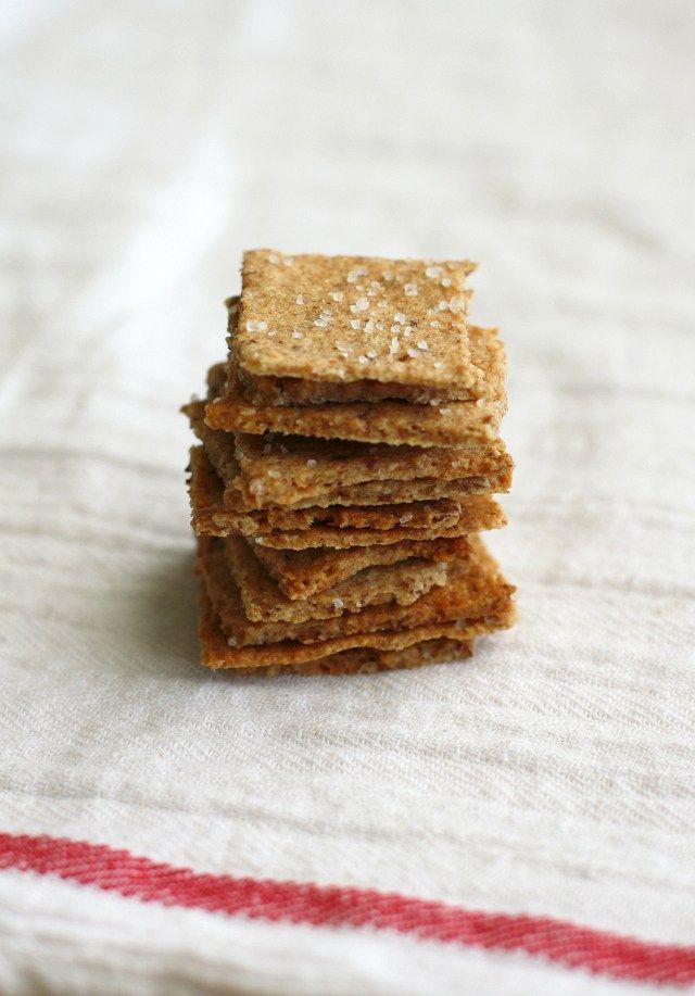 Whole grain vegan cracker recipe wheat thins vegan cracker whole grain vegan cracker solutioingenieria Images