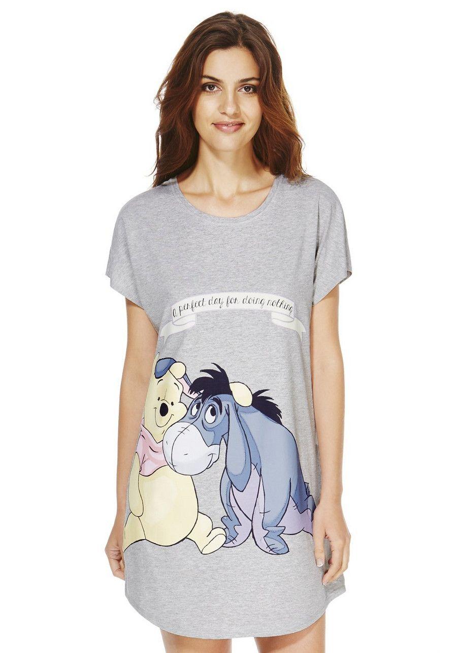 Disney Winnie The Pooh Sleep T Shirt Night Shirts For Women Fashion Outfits Womens Disney Shirts