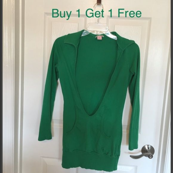 Guess top Wear over top or tank. Great condition. Buy 1 get 1 free all items tagged buy 1 Get 1 Free. Equal or less value. you must tag me the free item before purchase. if you make an offer for a lower price than listed you do not qualify for a free item. Guess Tops