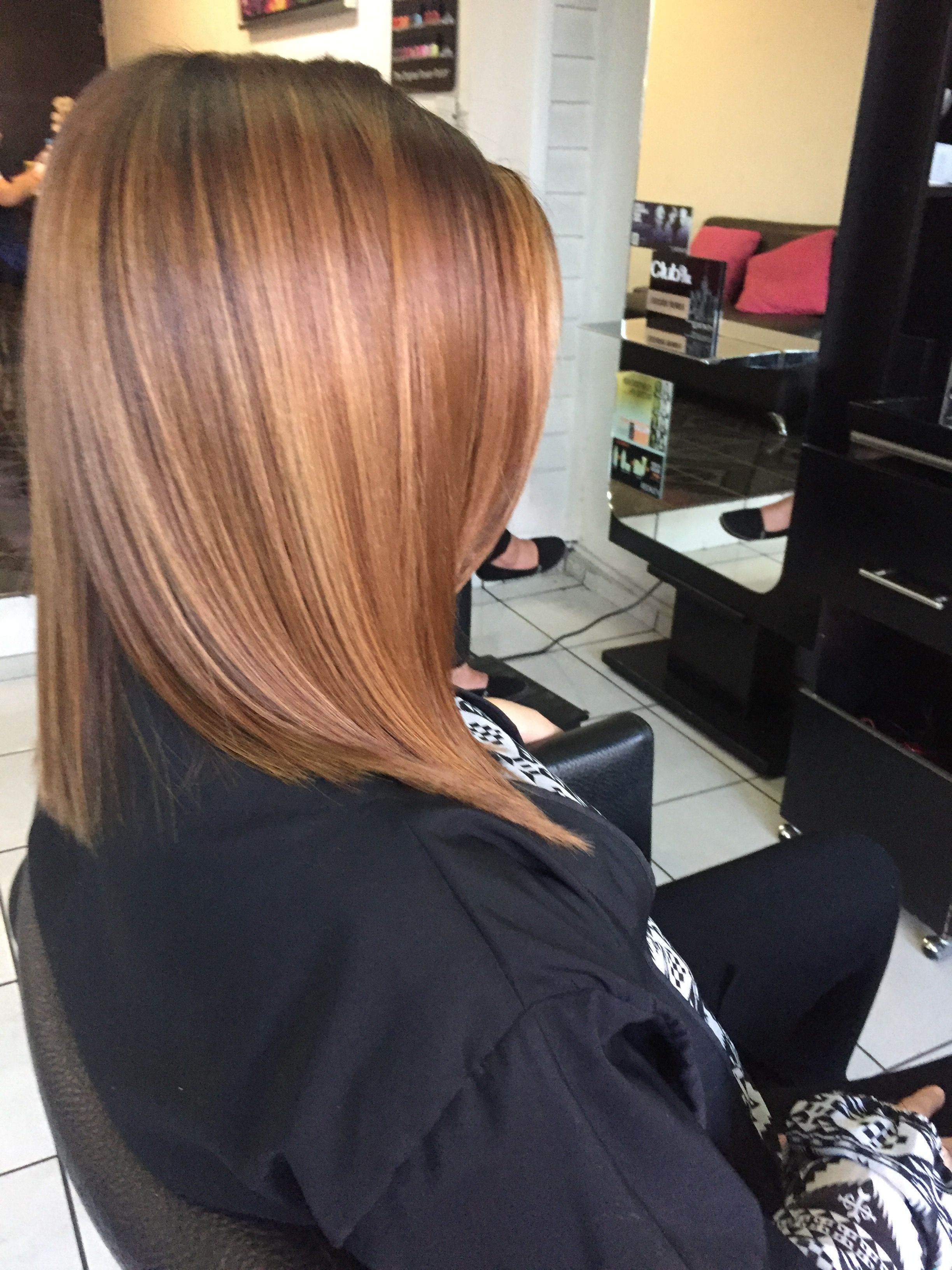 Color melena cut