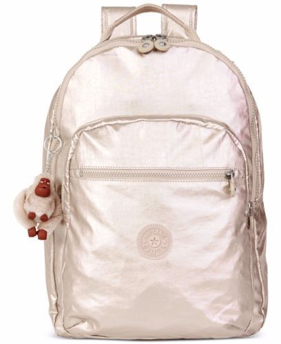 8c623fa0498 New-Kipling-Seoul-Large-Backpack-with-Laptop-Protection-Gleaming-Gold- Metallic