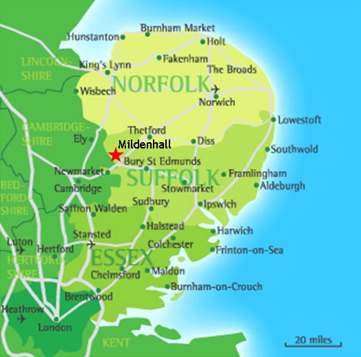 Mildenhall Mildenhall Suffolk England Lakenheath