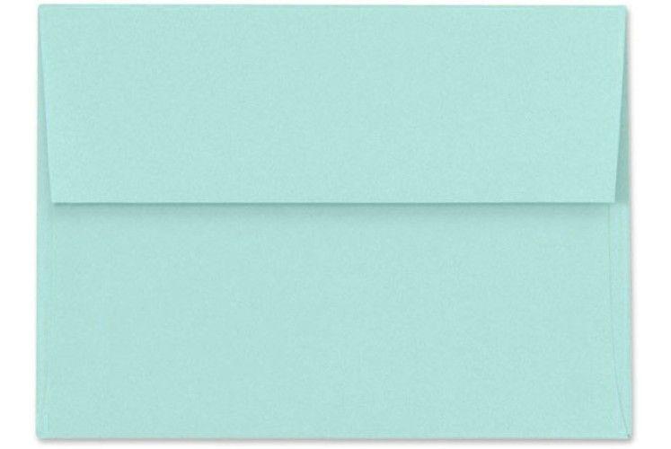 A4 Envelopes 4 1 4 X 6 1 4 Seafoam Invitation Envelopes Envelope Invitations