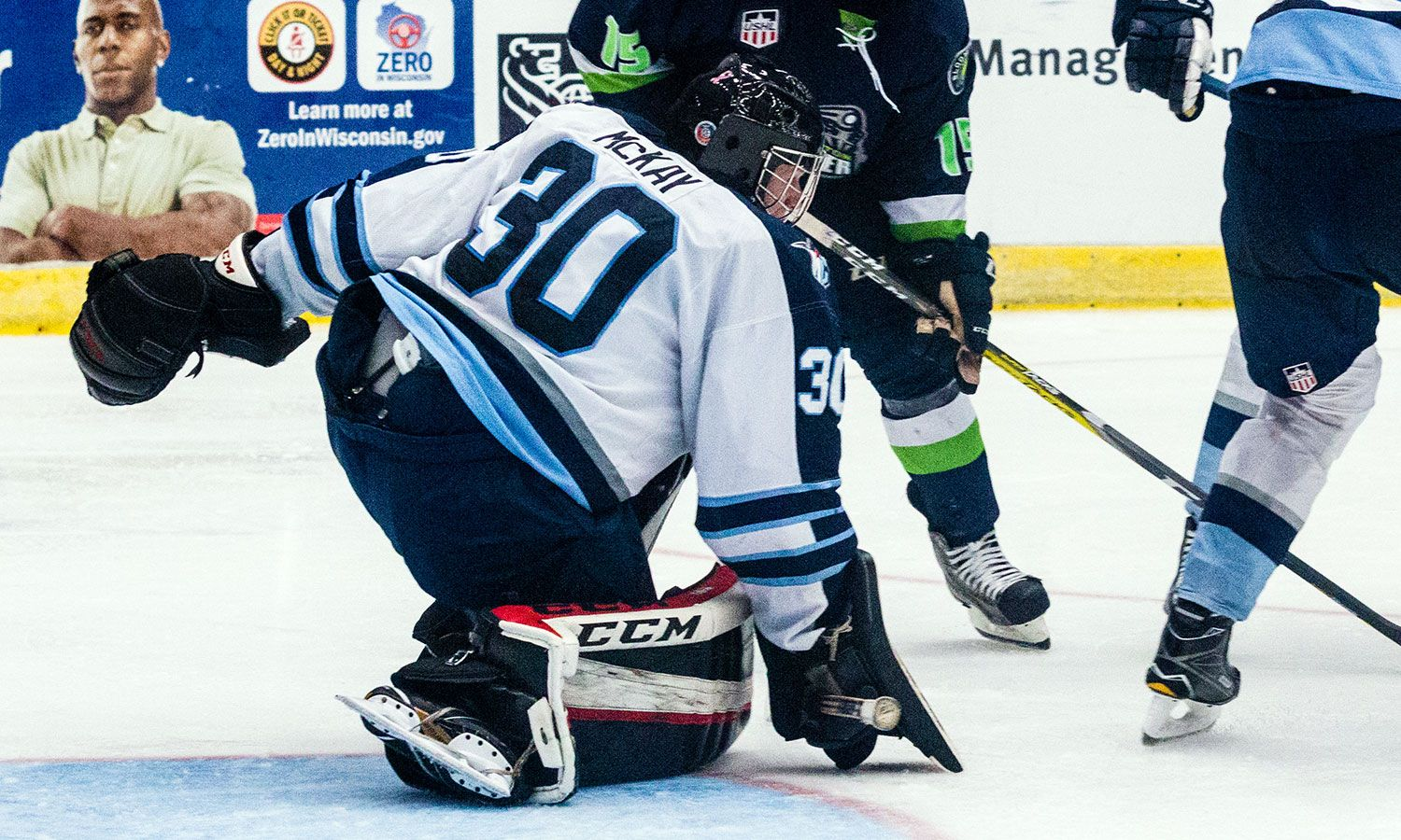 Madison Capitols goaltender Dryden McKay announced his commitment to the College of the Holy Cross.