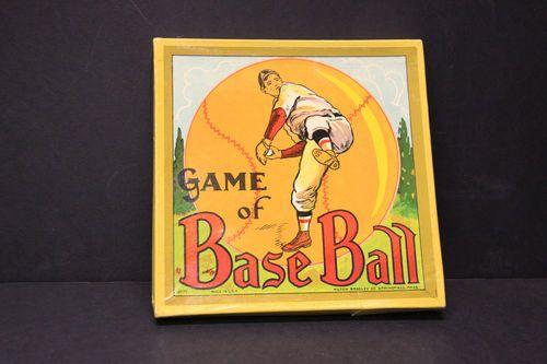 Vintage Early 1930s Milton Bradley Game Of Baseball Toy Board Game Spinner Ebay Baseball History Baseball Nursery Baseball Star