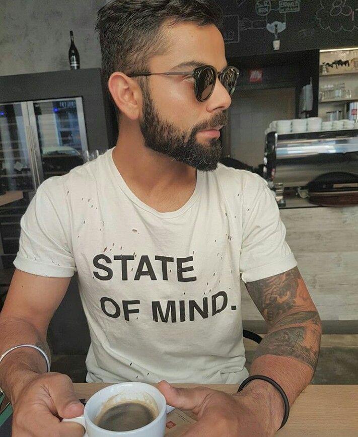 What's your State of Mind. | Virat kohli hairstyle, Virat ...