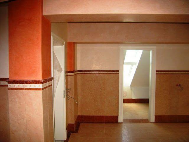 Tadelakt in verbindung mit marmor im luxusbad www for Tadelakt auf fliesen