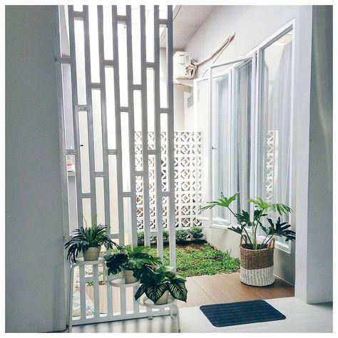 taman minimalis dalam rumah | desain, rumah, desain produk