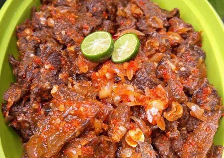 Resep Sambal Paru Oleh Cindy Kad Resep Resep Resep Daging Makanan Dan Minuman