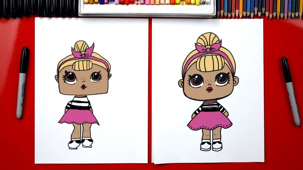 How To Draw An L.O.L. Surprise Doll | Art for kids hub ...