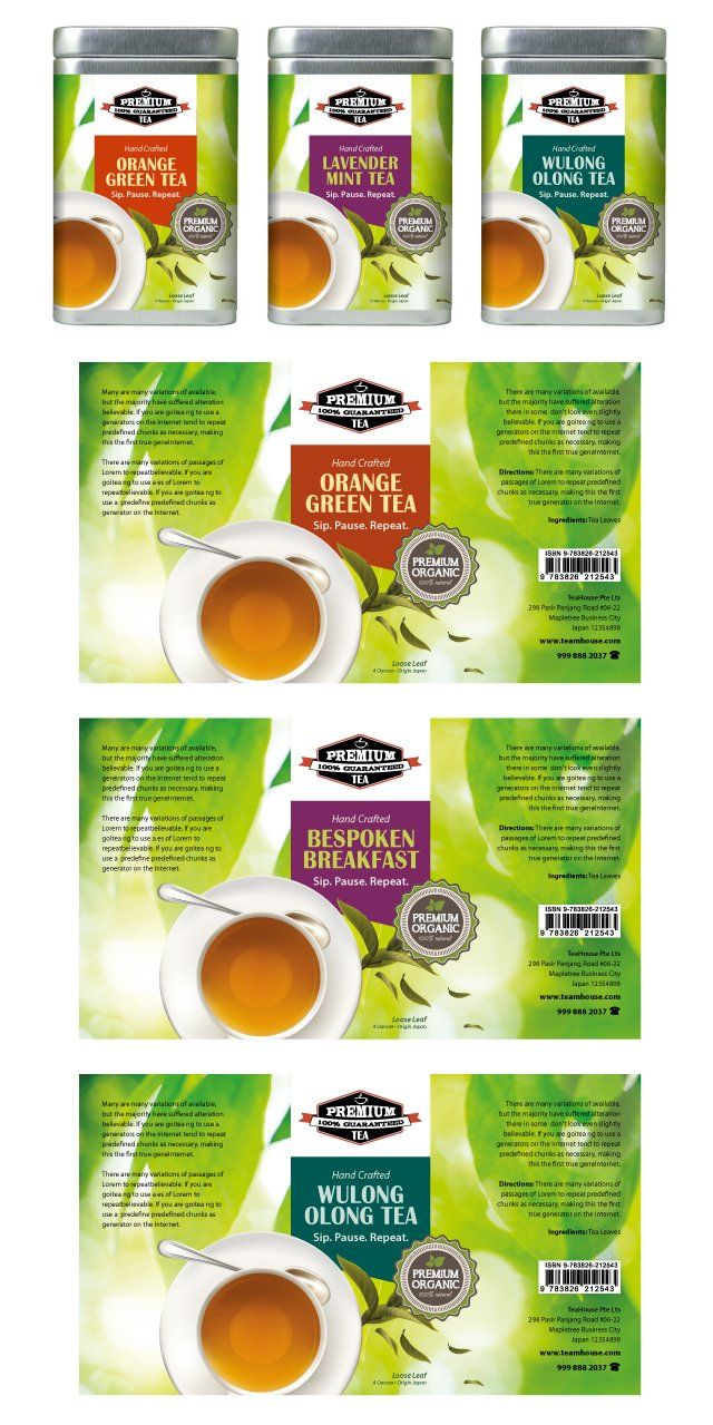 Tea Labels Template HttpWwwDlayoutsComTemplateTea