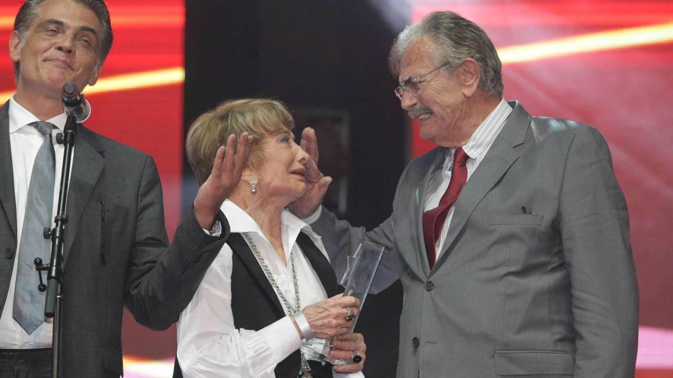 Tarcísio Meira e Glória, homenageados do Prêmio Extra de TV 2012