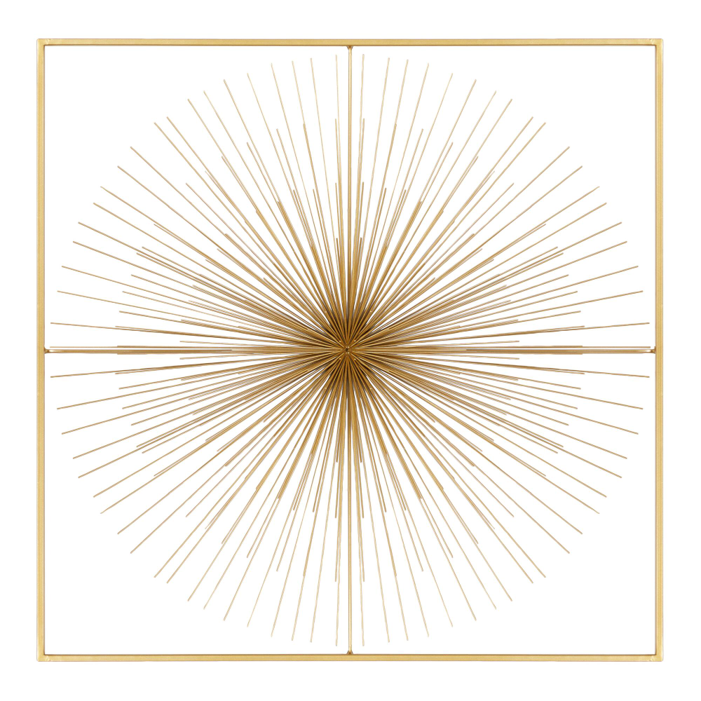Gold Starburst Framed Wall Decor World Market In 2020 Frames On Wall Gold Starburst Frame Wall Decor
