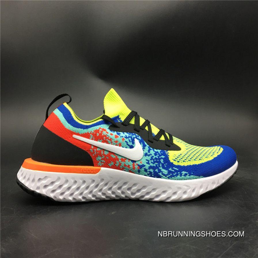 07708f32734c4 2019 的 Nike Epic React Flyknit AQ0067-005 Cushioning Technology ...