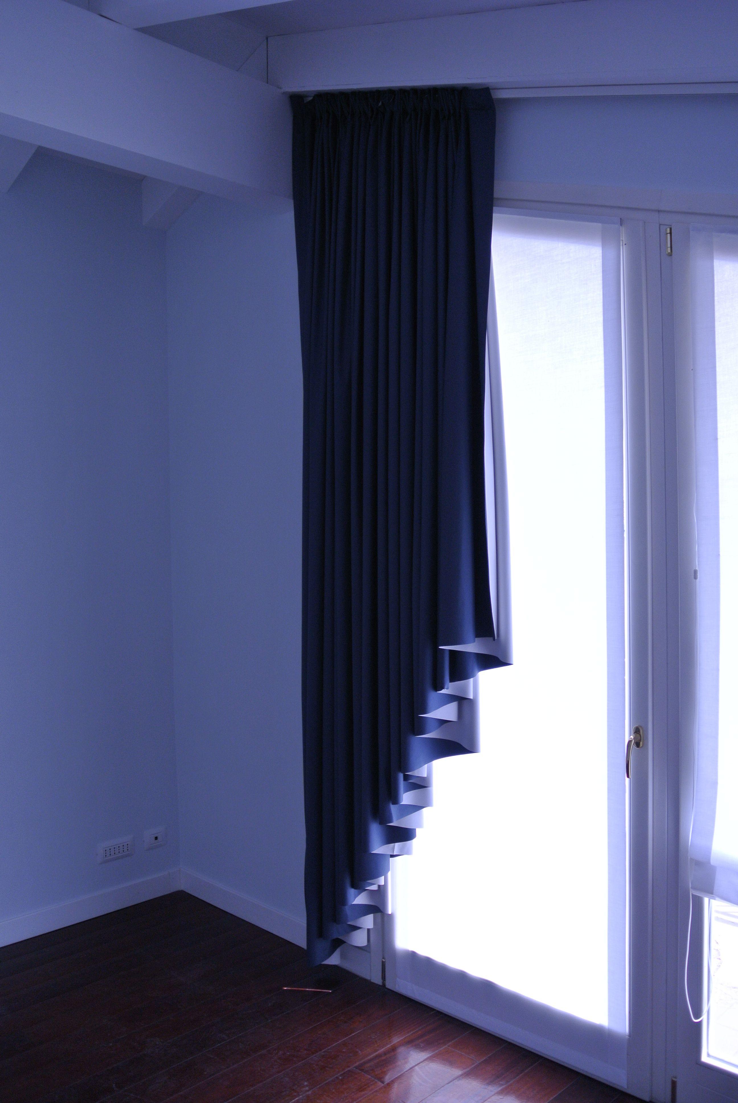 Tende Per Soffitti Inclinati tenda oscurante a trapezio | tende a soffitto, tende