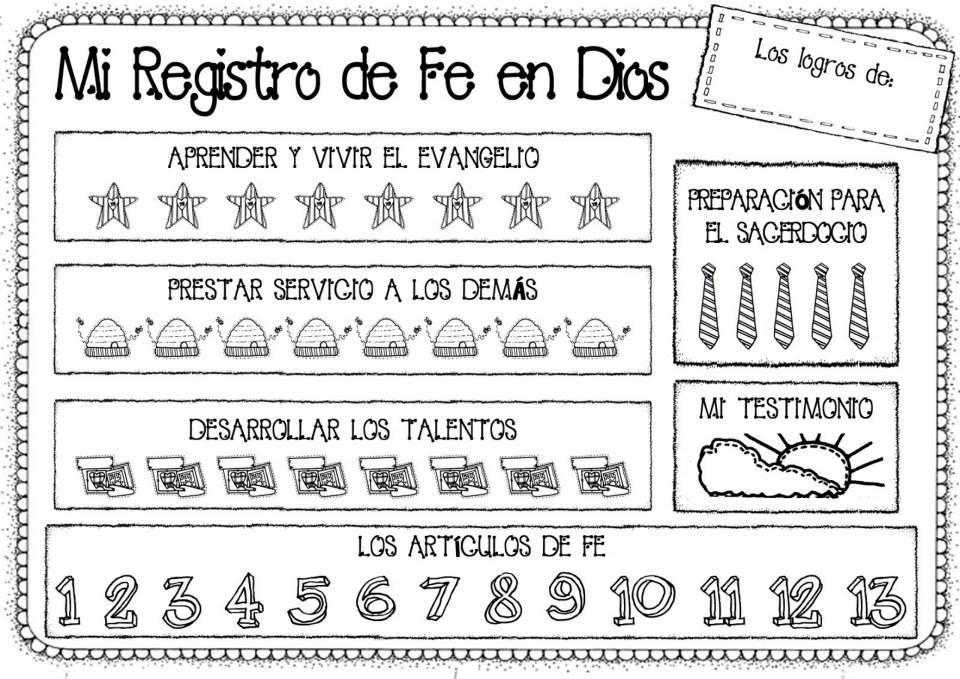 Registro de Fe en Dios para niños | sud | Pinterest | Fe en dios, Fe ...