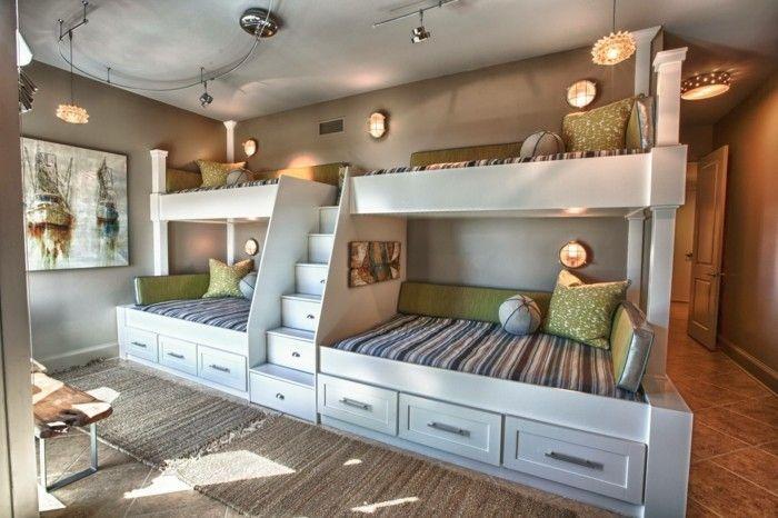 Etagenbett Jugendzimmer : Jugendzimmer mit hochbett raumideen für teenagers