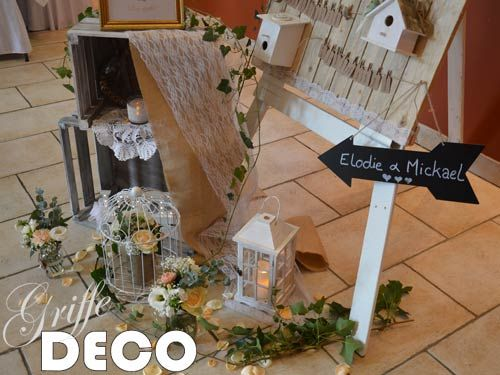 decoration et mise en ambiance d un plan de table theme champetre chic