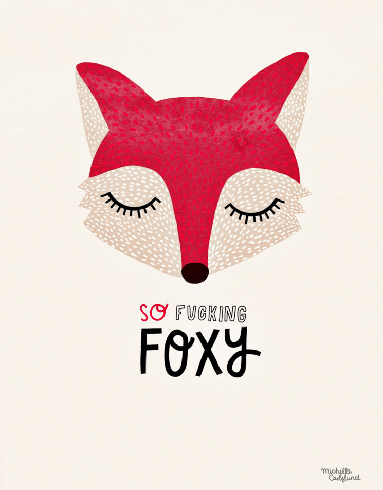 Poster Foxy