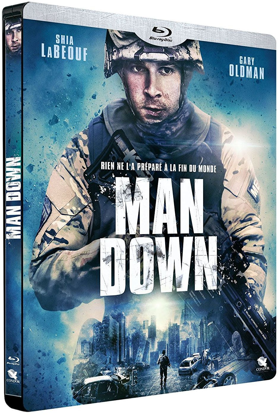 MAN DOWN, un inédit de Shia Labeouf en steelbook collector