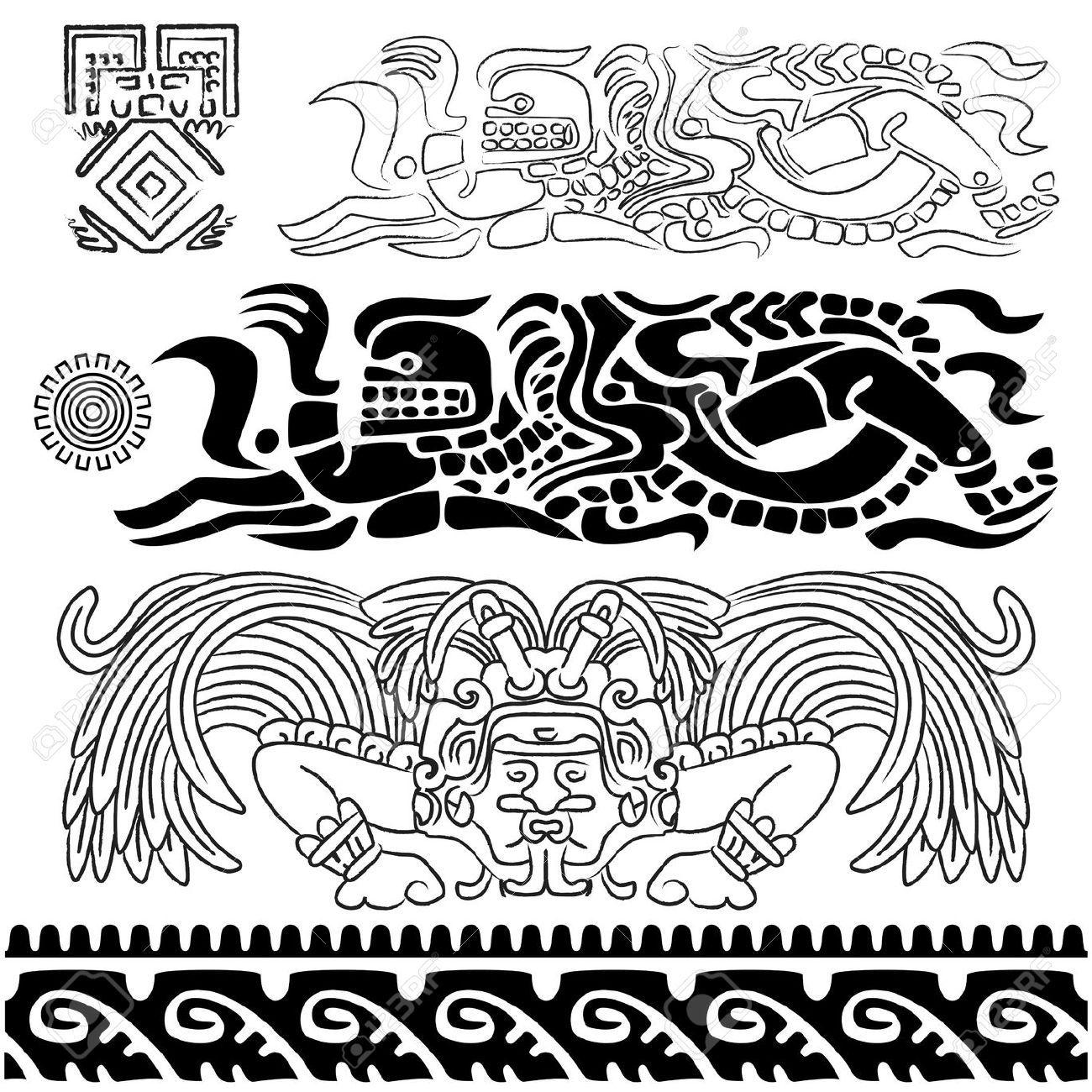 bordado mexicano mano patrones - Buscar con Google | ARTE MAYA ...