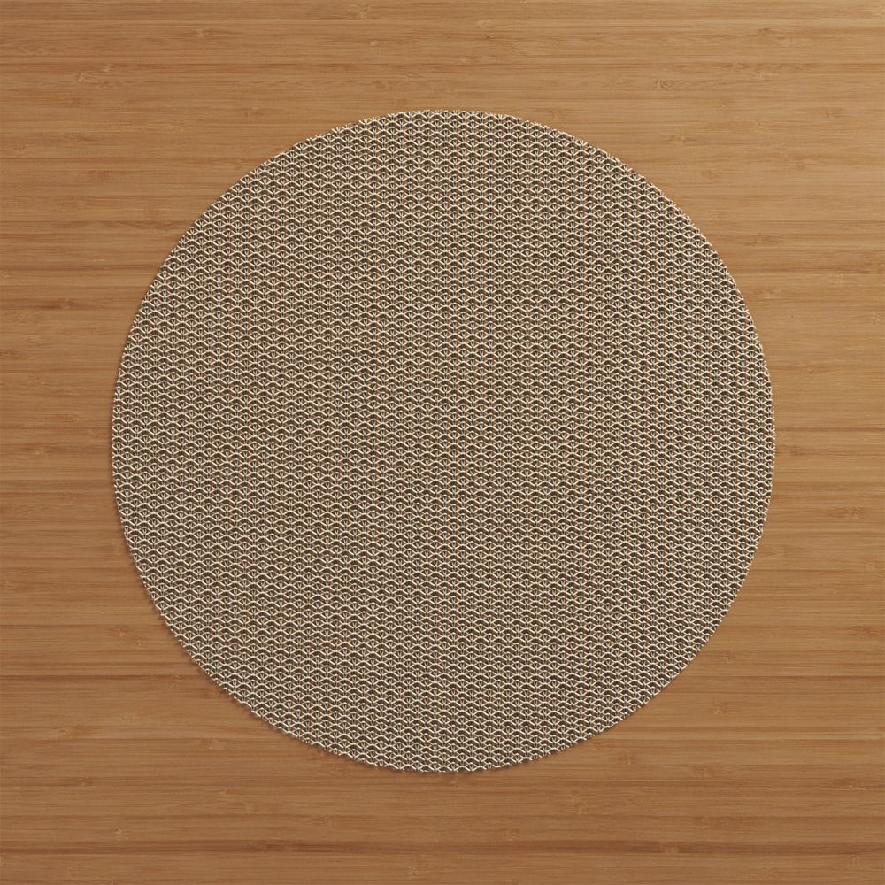 Chilewich Knitty Neutral Vinyl Placemat Reviews Crate