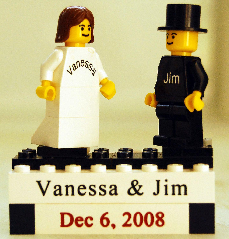 Personalized LEGO(tm) Wedding Cake Topper. $25.00, via Etsy.   Far ...