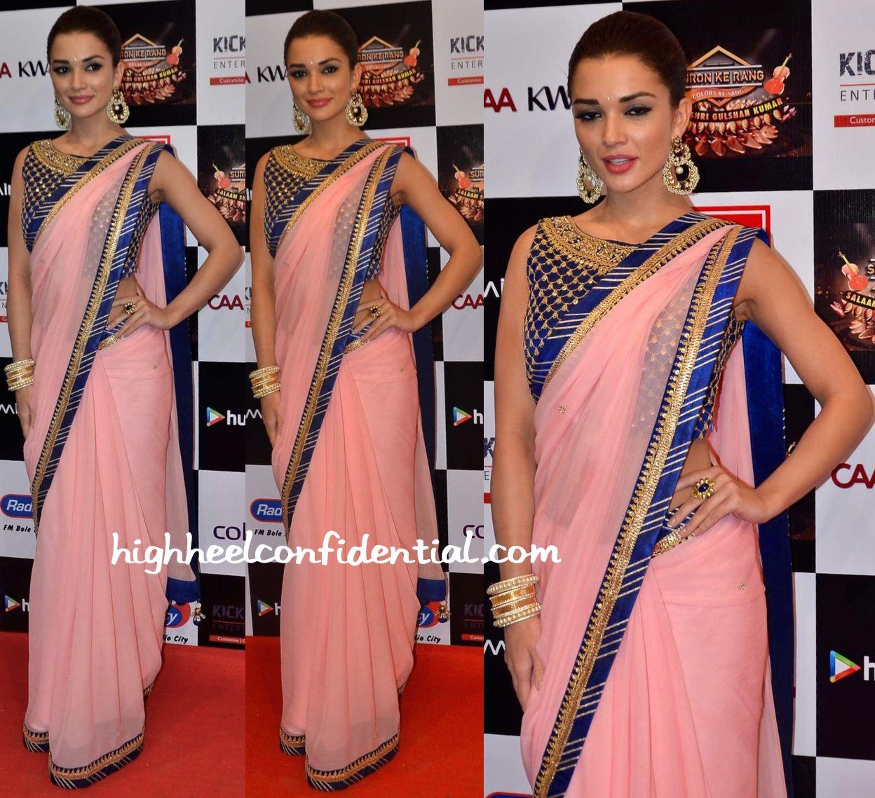 Amy Jackson In Arpita Mehta At Gulshan Kumar Tribute | Indian ...