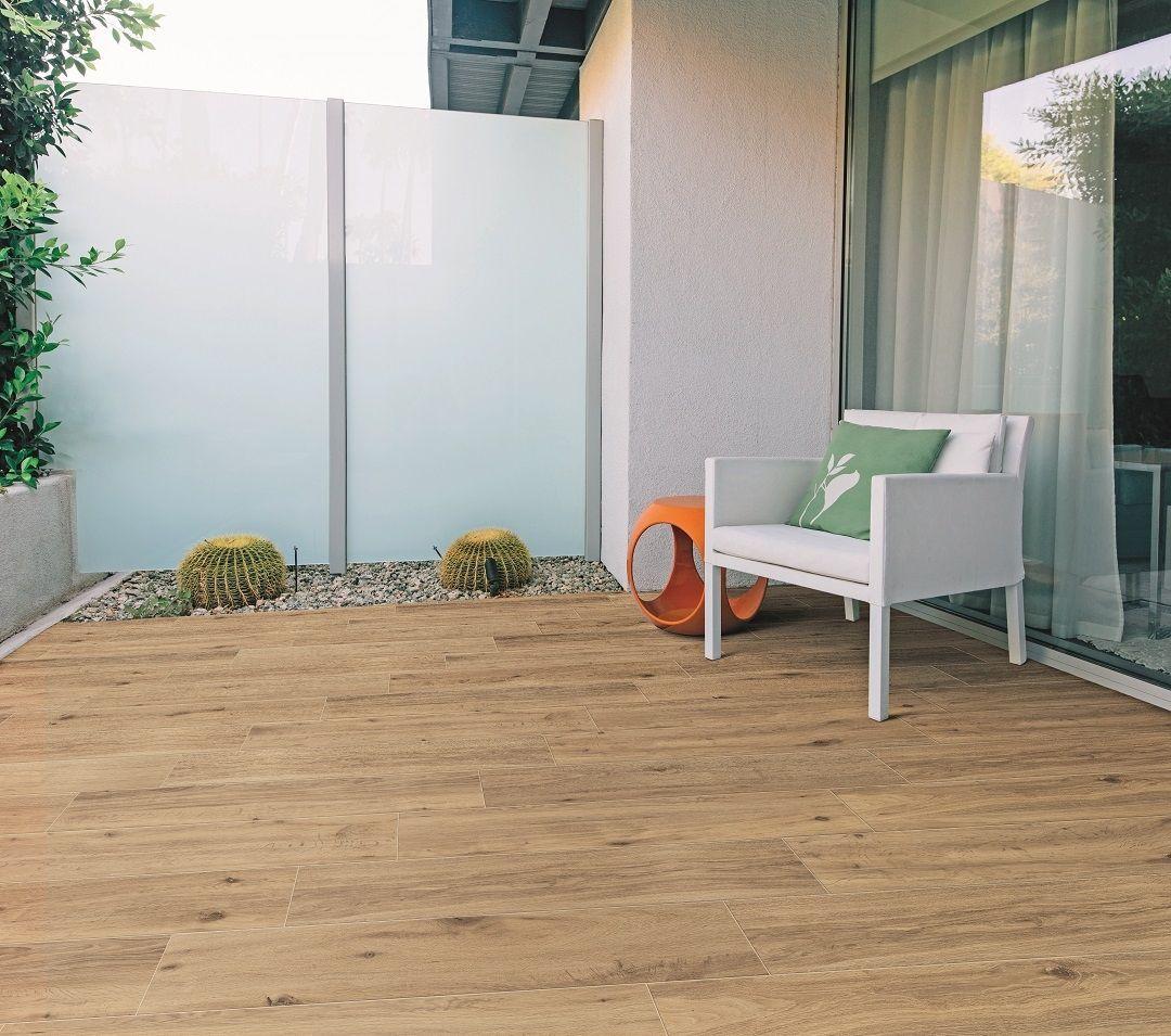 Bodenfliese Marazzi Treverkview Miele Outdoor 20x120cm Fliesen Holzoptik Eiche Feinsteinzeug Holzoptik Fliesen Holzoptik
