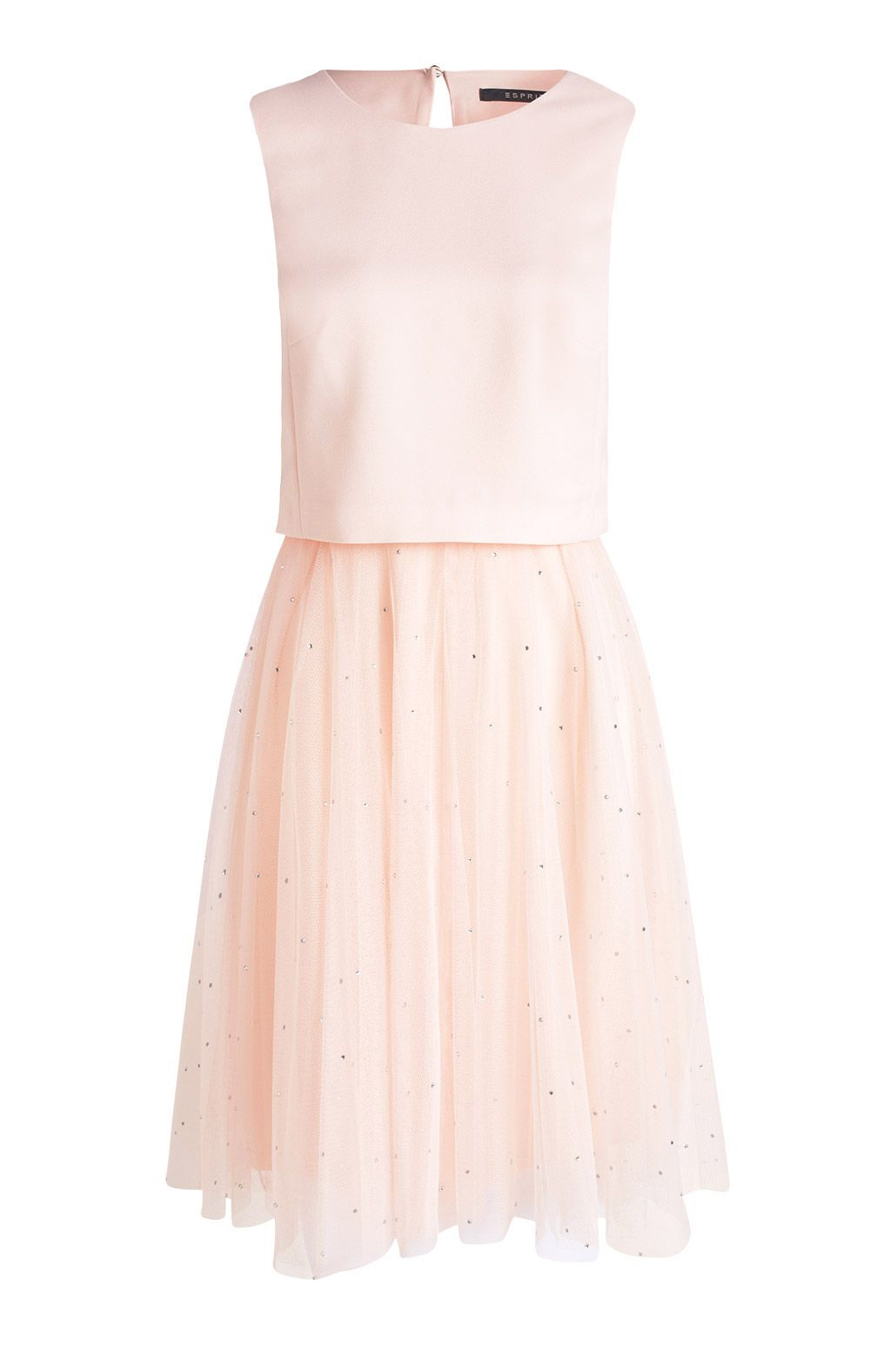 Robe ceremonie rose esprit tutu