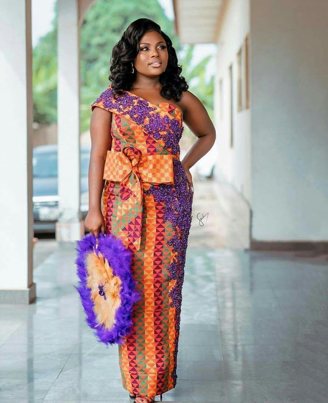 Kente Wedding Gowns: Kente Styles, Traditional