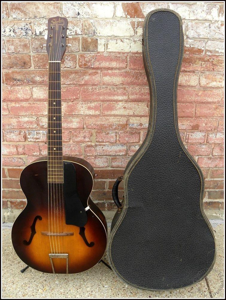vintage archtop guitar