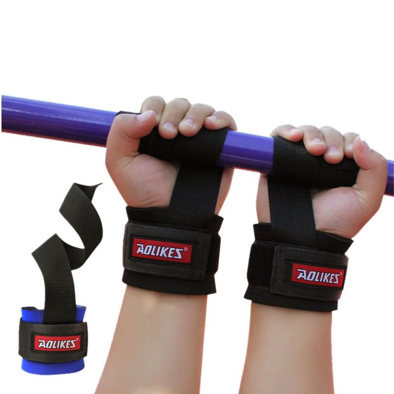 Steady 2pcs Wristband Gym Training Weightlifting Hand Bar Wrist Support Grip Barbell Straps Hand Wraps For Bodybuilding Power Lifting Sports & Entertainment Wrist Support