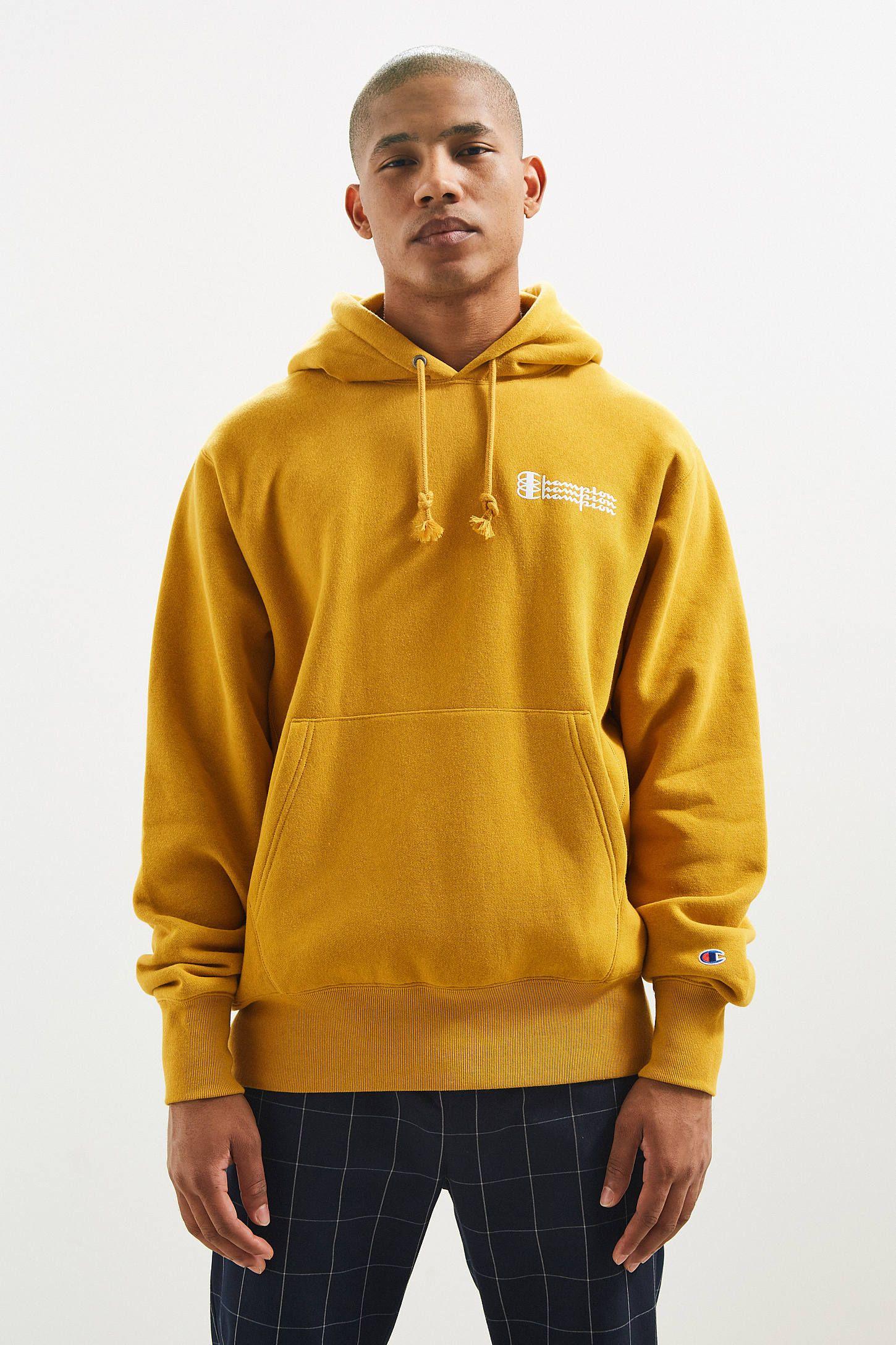 Champion Uo Exclusive Triple Script Reverse Weave Hoodie Sweatshirt Sweatshirts Hoodie Hoodies Sweatshirts [ 2175 x 1450 Pixel ]