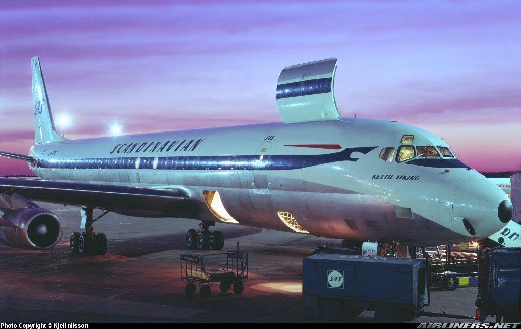 Scandinavian Airlines Sas Mcdonnell Douglas Dc 8 62af Stockholm Arlanda Arn Essa Sweden Scandinavian Airlines System Cargo Aircraft Douglas Dc 8