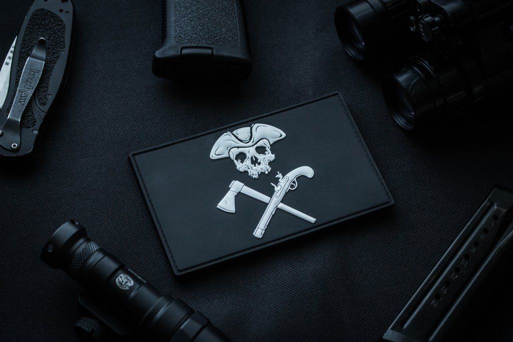 Titan One Europe Tactical Punisher Death Card Morale Ace of Spade Patch