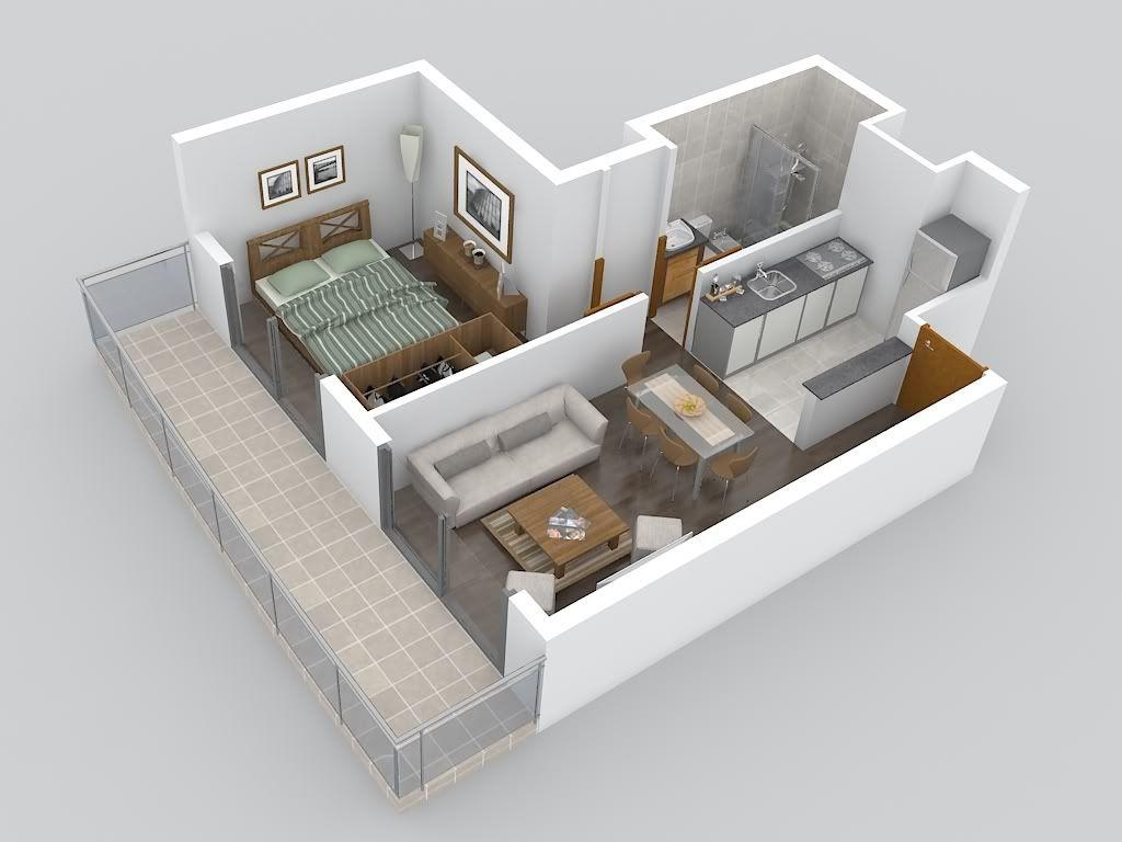 Departamento para estudiantes plano buscar con google for 35m2 apartment design