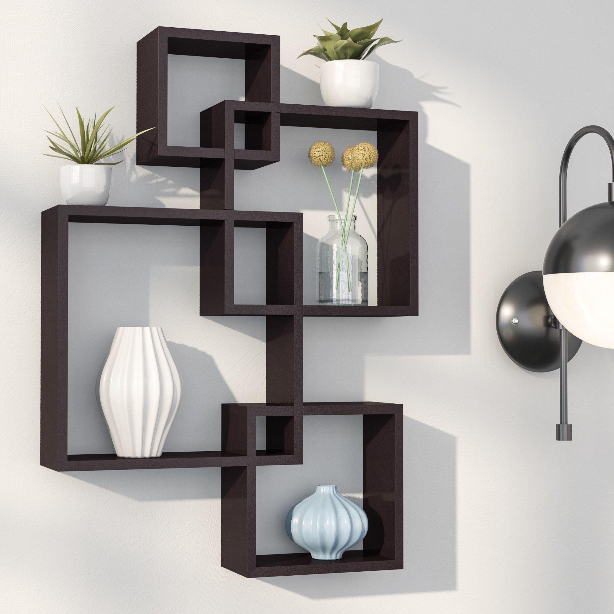 Langley Street Spoon Intersecting Cubes Shelf Em 2019 Mi Sala