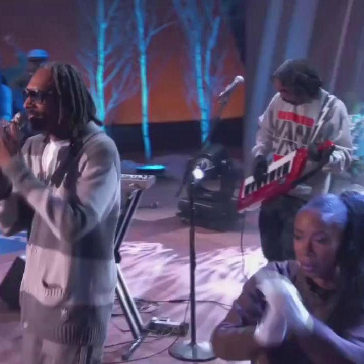 DAM-FUNK reppin' Vancity Original® on the Queen Latifah Show with Snoop Dogg.