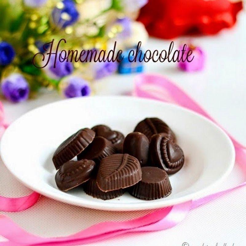 Easy homemade chocolate