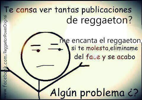 So I like Reggaeton
