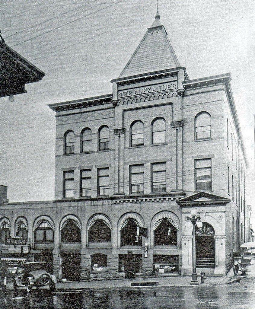 Alexander Hotel 1920s Kittanning Pa.   Alexander hotel, Old street