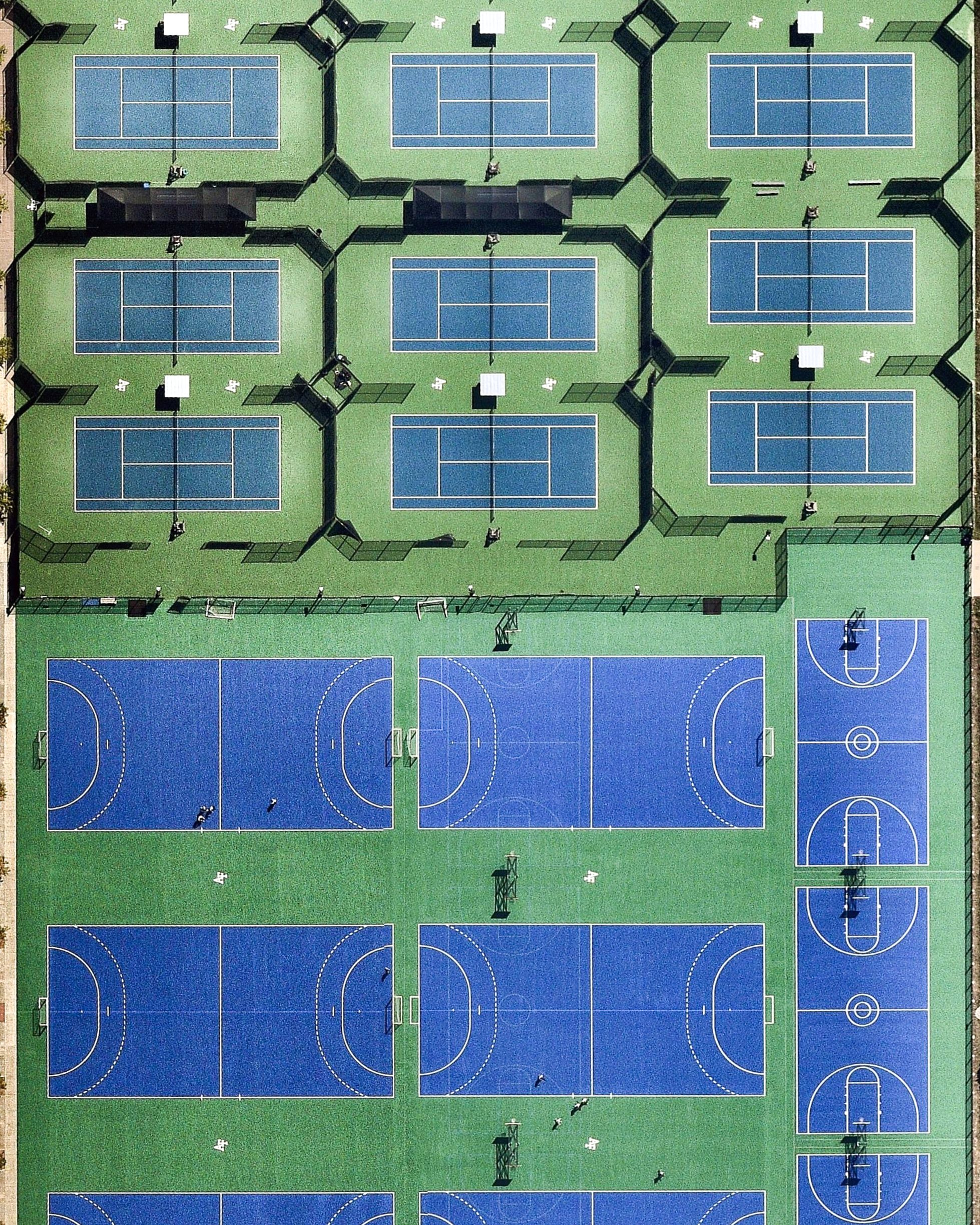 Several Athletic Fields Are Positioned Side By Side In The Cadet Area Of The United States Air Force Academy In Colorado Springs Diving Pool Basketball Court Size Round The World Trip