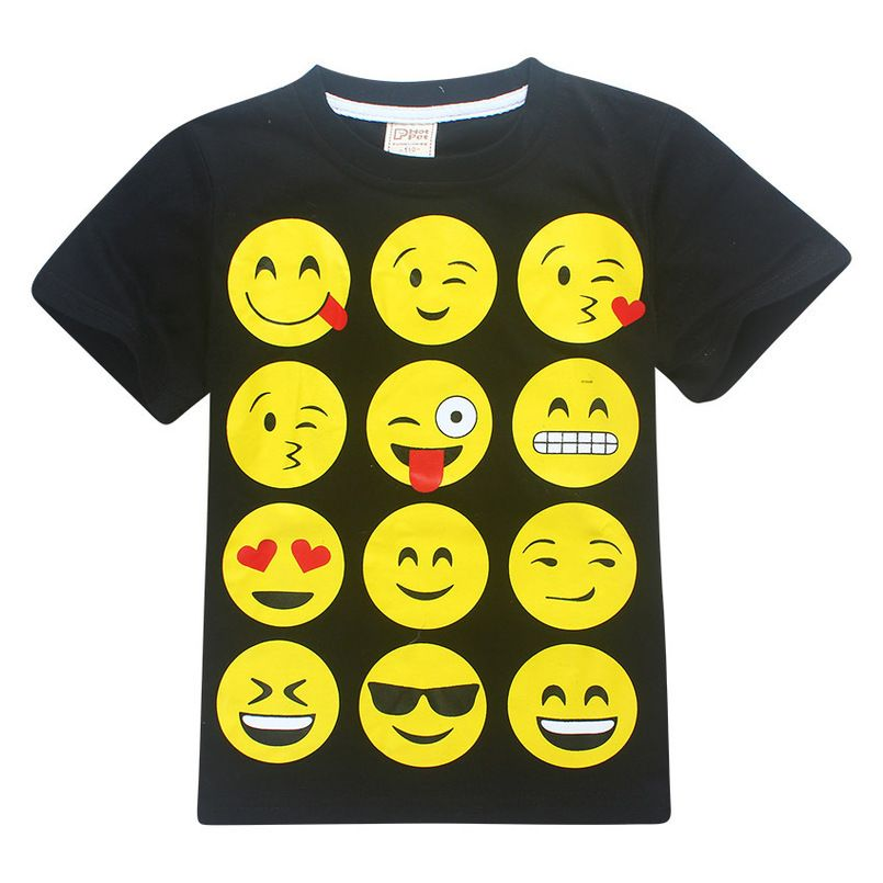 0e51fcd2f7c05 Summer Minecraft Short Sleeve T-shirts Baby Girls JOJO Siwa Moana Cartoon  emoji Kid's Tops Ninja Roblox Mario and Luici Boy Tees