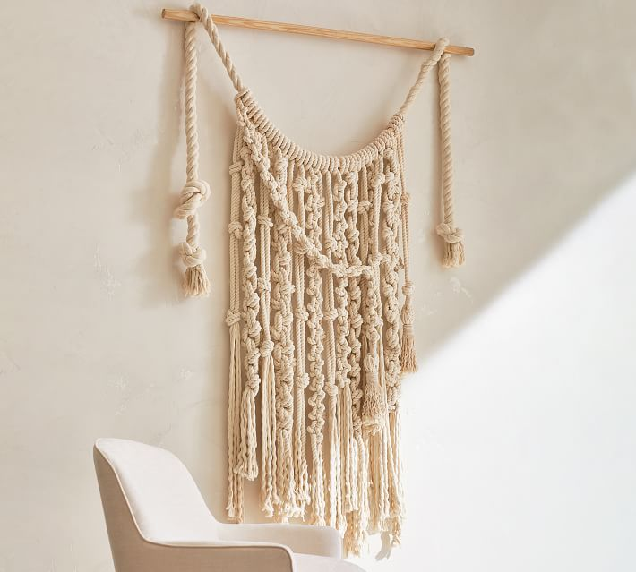 Spring Lookbook Image By Pottery Barn In 2020 Macrame