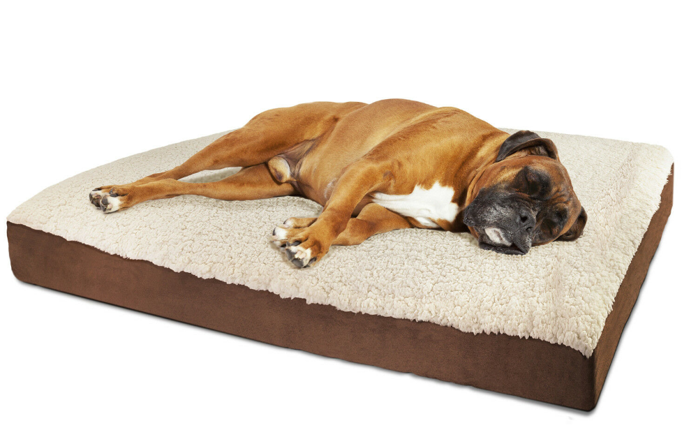 Orthopedic Dog Bed Pet Lounger Deluxe Cushion For Crate Foam Soft Fuzzy Xl In 2020 Cool Dog Beds Orthopedic Pet Bed Orthopedic Dog