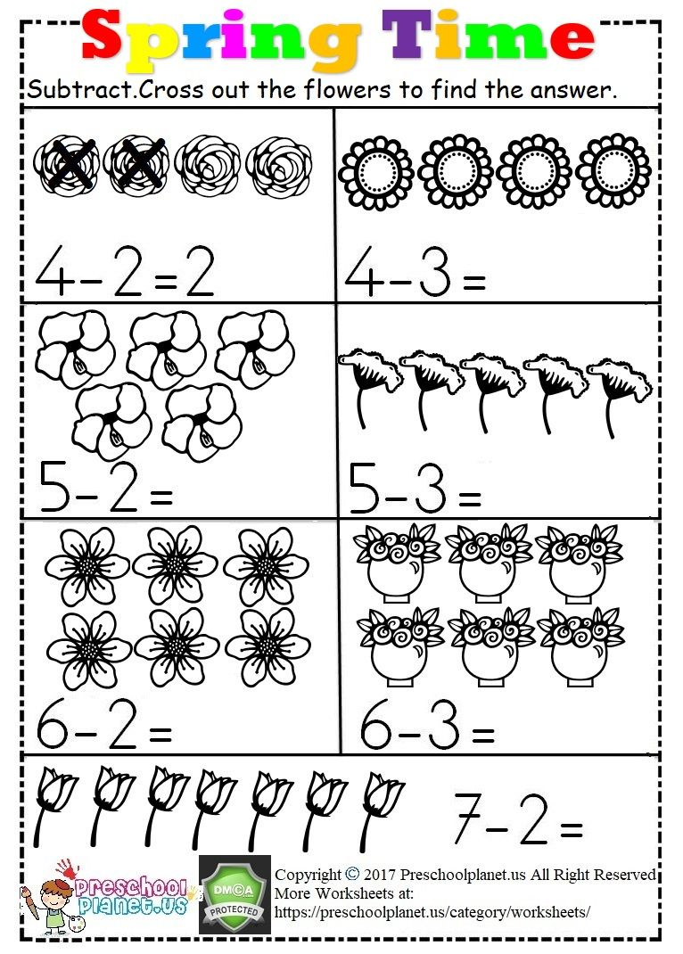 28+ Decent subtraction worksheets for kindergarten with crossing out ideas