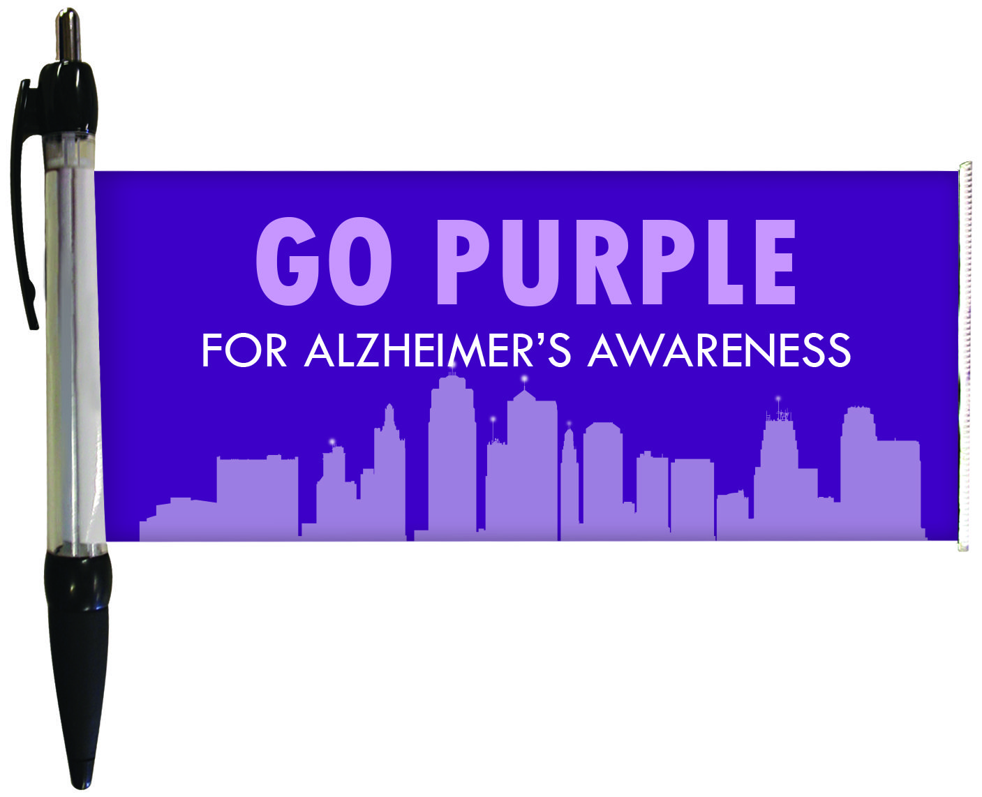 Pin By Quinn Flags On Healthcare Awareness Promotional Ideas Alzheimers Awareness Awareness Trade Show Display
