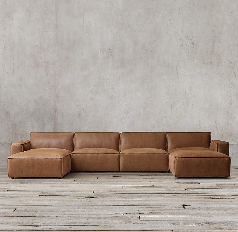 Como Modular Leather Customizable Sectional In 2020 Modern Leather Sectional Modern Leather Sectional Sofas Sectional Sofa With Chaise